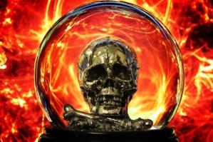 skullinflames